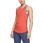 Womens Under Armour Qualifier Sleeveless & Tank Tops Technical Tops