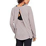 Womens Under Armour Whisperlight Long Sleeve Technical Tops