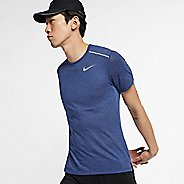 Mens Nike Breathe Rise 365 Short Sleeve Technical Tops