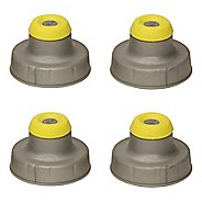 Nathan Push-Pull Caps 4 pack Hydration