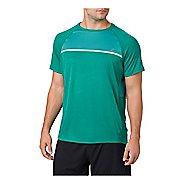 Mens ASICS Short Sleeve Technical Tops