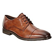 Mens Ecco Melbourne Cap Toe Tie Casual Shoe