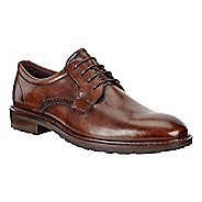 Mens Ecco Vitrus I Plain Toe Tie Casual Shoe