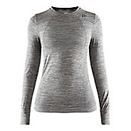 Womens Craft Fuseknit Comfort Run Long Sleeve Technical Tops