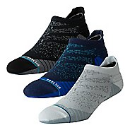 Mens Stance RUN No Show Tab Socks 3 pack