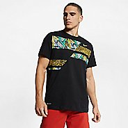 Mens Nike Dry Culture Clash Tee Short Sleeve Technical Tops