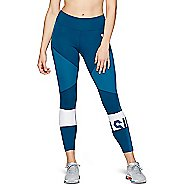 Womens ASICS Color Block Cropped 2 Leggings Tights