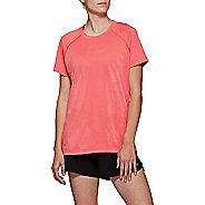 Womens ASICS AAC Train Tee Short Sleeve Technical Tops