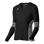 Womens ASICS Decoy Long Sleeve Technical Tops