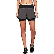 Womens ASICS Woven SW 4-inch 2-in-1 Shorts