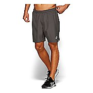 Mens ASICS Silver 7-inch 2-in-1 Shorts