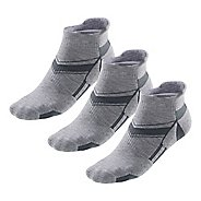 R-Gear Super Plush Thin Cushion No Show Tab Socks 3 pack