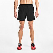 "Mens Saucony Alpha 5"" Woven Lined Shorts"