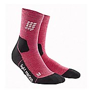 Womens CEP Dynamic+ Outdoor Light Merino Mid-Cut Socks 3 Pack Injury Recovery