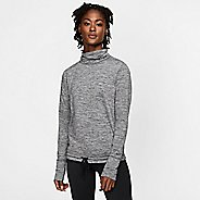 Womens Nike Funnel Neck Long Sleeve Technical Tops