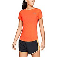 Womens Under Armour Streaker 2.0 Short Sleeve Technical Tops