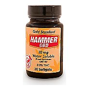 Hammer Nutrition Hammer CBD Hemp Extract 10 mg 30 count softgels Supplement