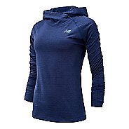 Womens New Balance Heatgrid Half-Zips & Hoodies Technical Tops