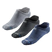 R-Gear Super Breathable Thin Cushion Heathered No Show 3 pack Socks