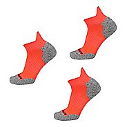New Balance Cushioned Nylon Low Cut Tab Running Socks 3 Pair Pack Socks