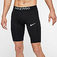 Mens Nike Pro Long Compression & Fitted Shorts