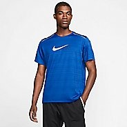 Mens Nike Dri-Fit Miler Flash Short Sleeve Technical Tops