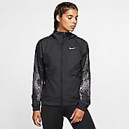 Womens Nike Essential Hooded Flash Running Jackets