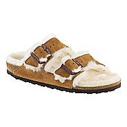 Womens Birkenstock Arizona Shearling Sandals Shoe
