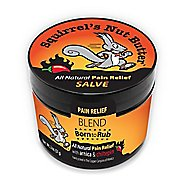 Squirrels Nut Butter Born to Rub Pain Relief Salve 2.0 ounce Tub Skin Care