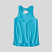 Womens Korsa Defiance Twist Back Sleeveless & Tank Technical Tops