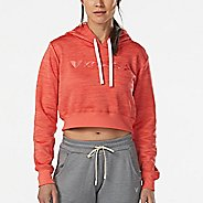 Womens Korsa Victory Crop Half-Zips & Hoodies Technical Tops