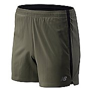 Mens New Balance Accelerate 5-inch Lined Shorts