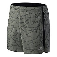 Mens New Balance Printed Accelerate 5-inch Lined Shorts