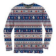 Mens Brooks Ugly Sweater Long Sleeve Technical Tops