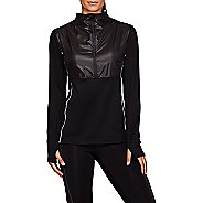 Womens ASICS Thermo Storm Half-Zips Hoodies Technical Tops
