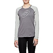 Womens ASICS XG Spiral A Long Sleeve Technical Tops