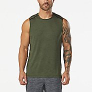 Mens Korsa Amplify Sleeveless & Tank Tops Technical Tops
