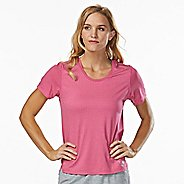 Womens Korsa Cadence Run Short Sleeve Technical Tops