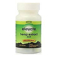 Elevate Hemp E Gum - 20 count Bottle 100mg Supplement