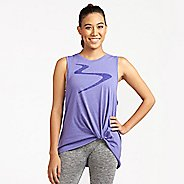 Womens Beachbody Twist Sleeveless and Tank Technical Tops