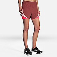 "Womens Brooks Chaser 5"" 2-in-1 Shorts"