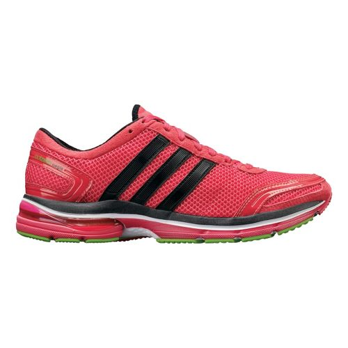 Womens adidas adiZero Aegis 2 Running Shoe - Fuschia/Black 6.5