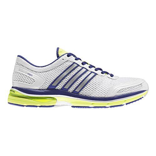 Womens adidas adiZero Aegis 2 Running Shoe - White/Purple 7