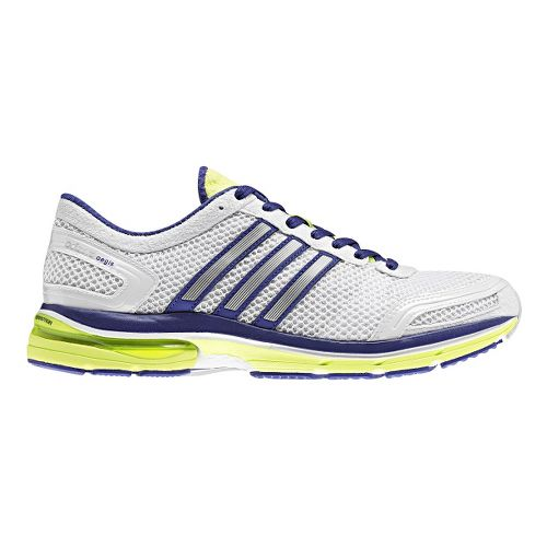 Womens adidas adiZero Aegis 2 Running Shoe - White/Purple 7.5