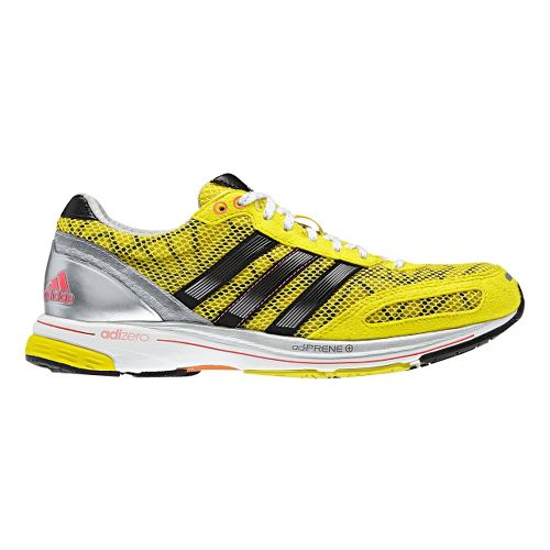 Womens adidas adizero adios 2 Running Shoe - Yellow/Black 10.5