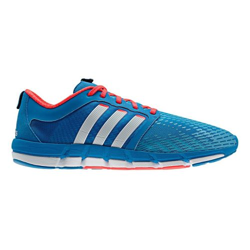 Mens adidas adiPure Motion Running Shoe - Blue/White 12.5