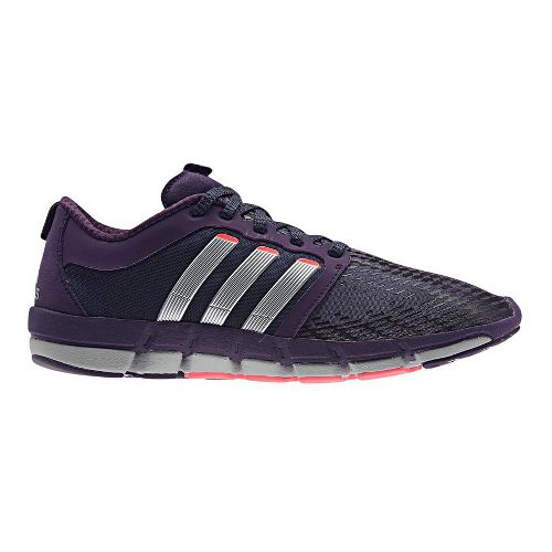 Womens adidas adiPure Motion Running Shoe - Purple/Silver 8.5