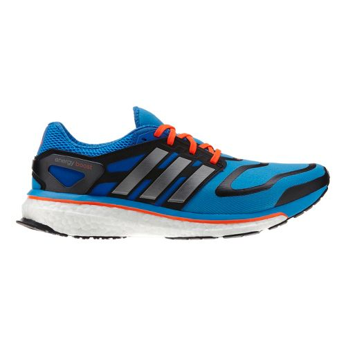 Mens adidas Energy Boost Running Shoe - Blue 11.5