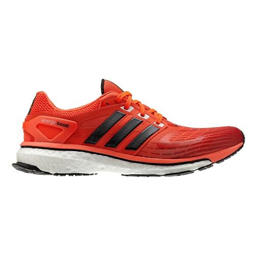 Mens adidas Energy Boost Running Shoe - Red/Black 9.5