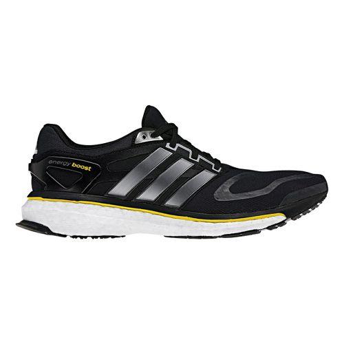 Womens adidas Energy Boost Running Shoe - Black/Silver 9.5